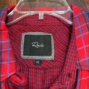 Cozy XS Rails shirt.  Great condition!